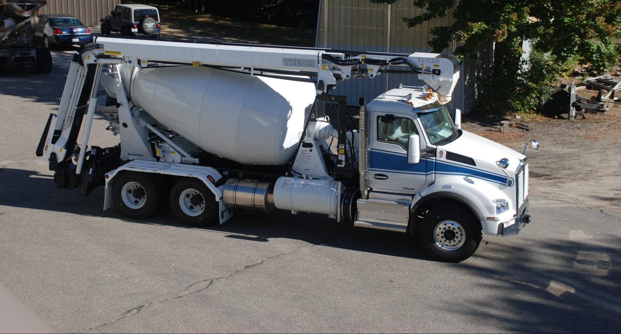Northrup theam conveyor concrete mixer ready mix USA